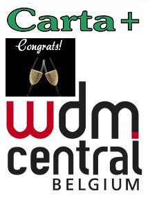 Carta+ congrats WDM Central