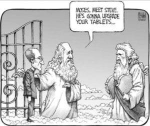 Steve, technology