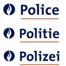 Legitimation card Belgian Federal Police logo