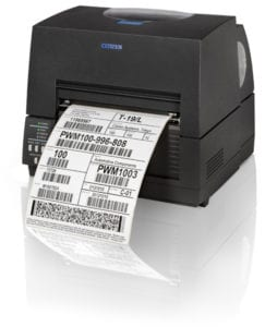World's smallest 6-inch label printer